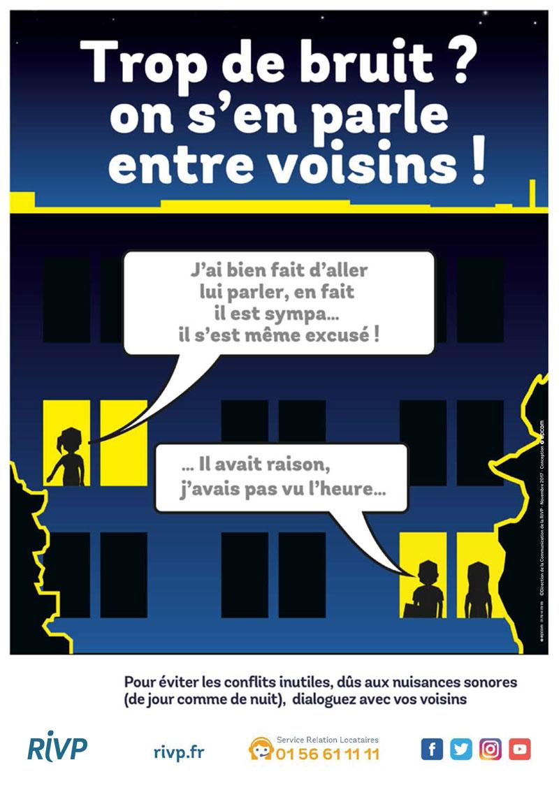 Le dialogue est la solution pour éviter les conflits inutiles de voisinage.