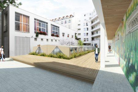 La RIVP va transformer des parkings en salles de sport à Paris 19ème.