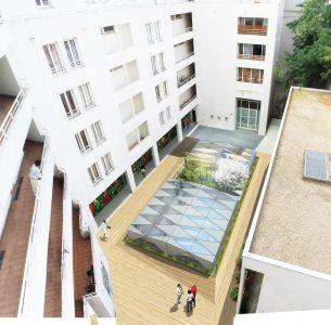 La Ville de Paris porte cette transformation de parkings en salle de sport.