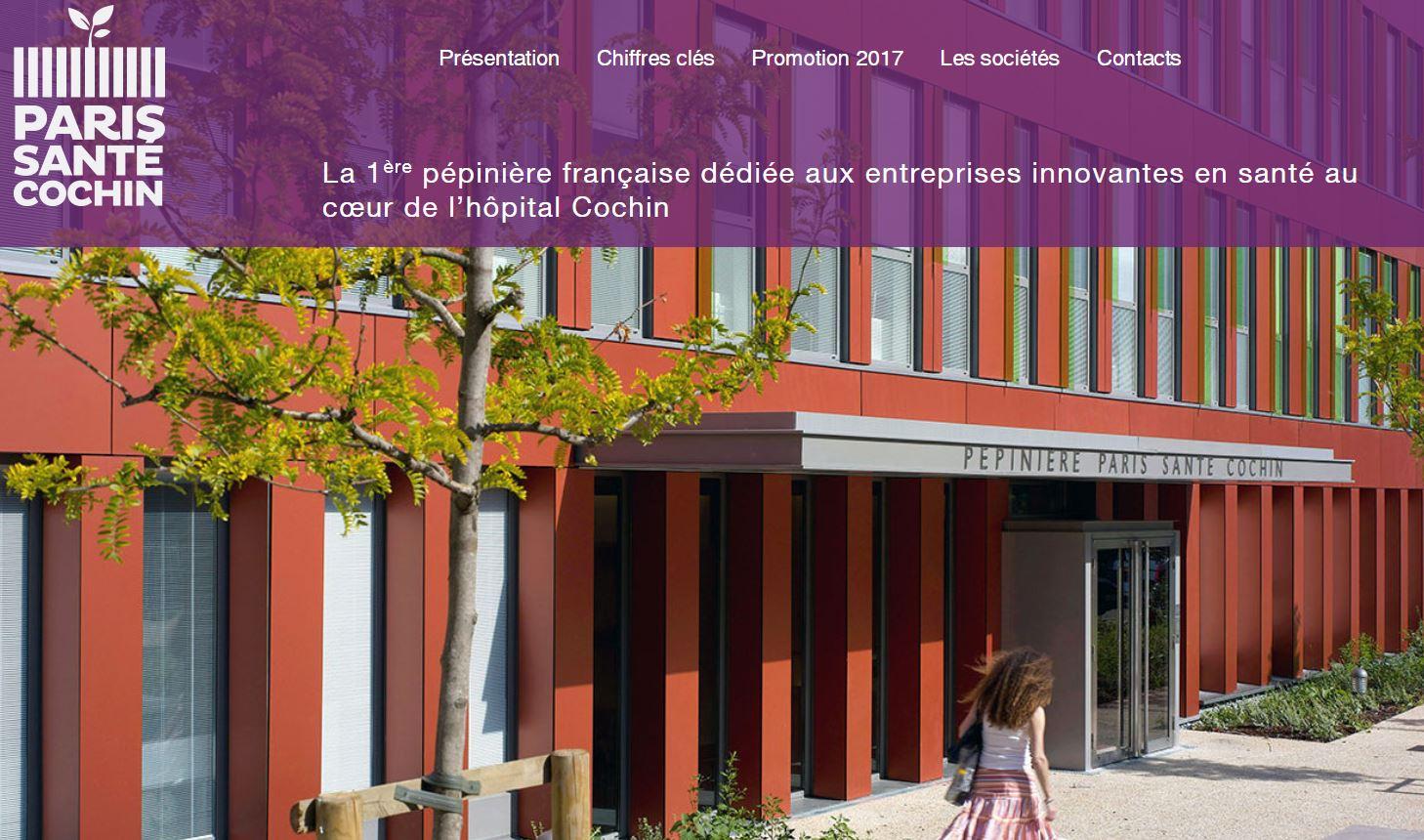 Paris Santé Cochin est la 1ère plateforme d'innovation en France uniquement destinée aux startups de la santé et des biotechnologies.
