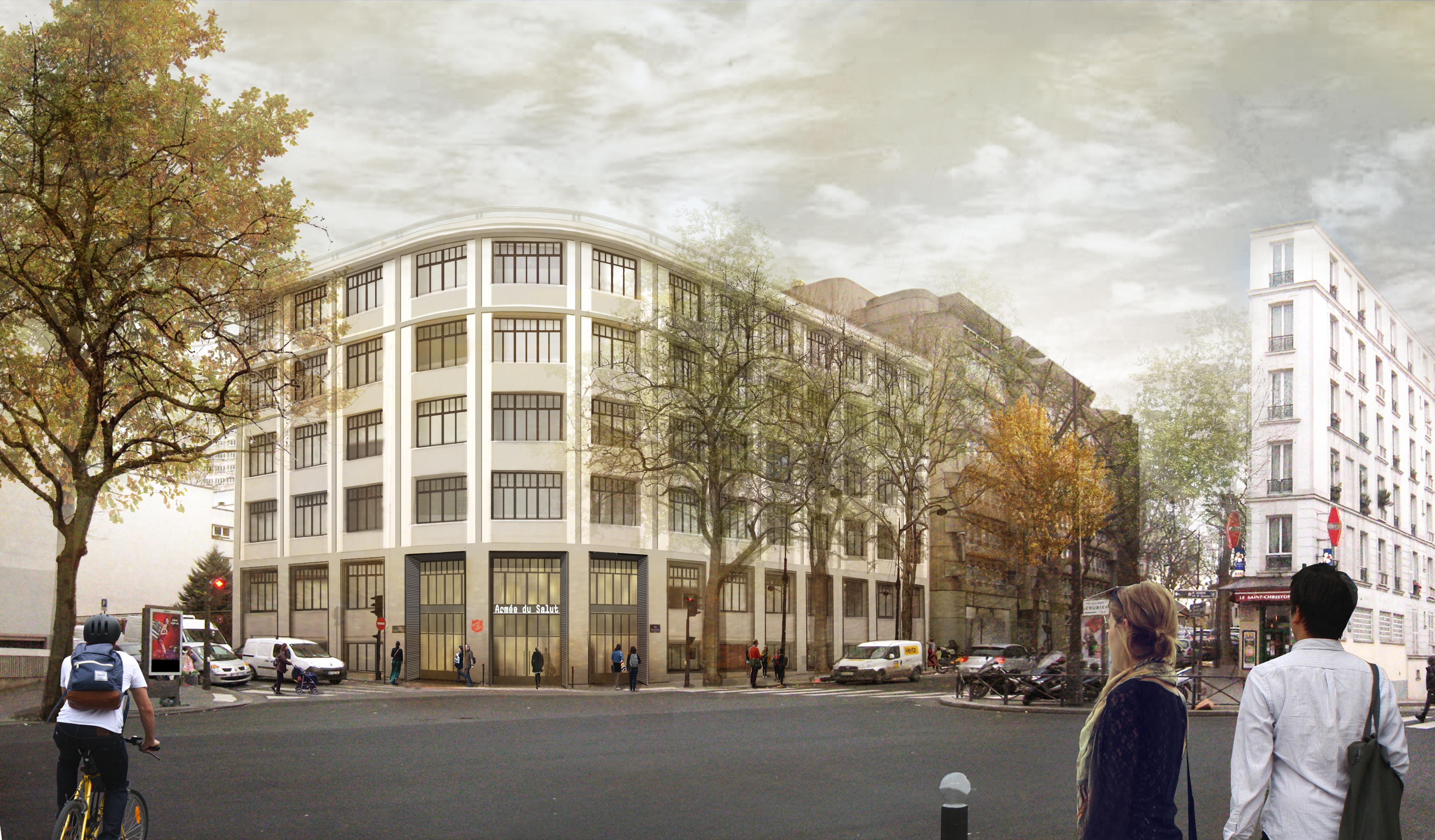 L'agence Canal Architecture assure la conduite du projet de réhabilitation avec la RIVP.