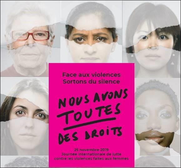 Le 25 novembre marque la journée internationale de lutte contre les violences faites aux femmes.